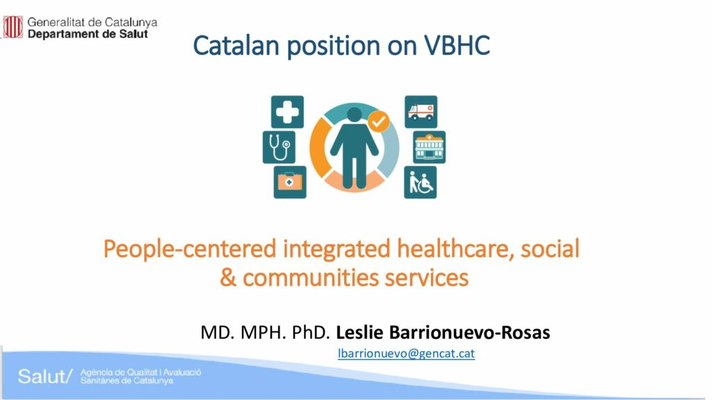 People-centered integrated healthcare, social & communities services