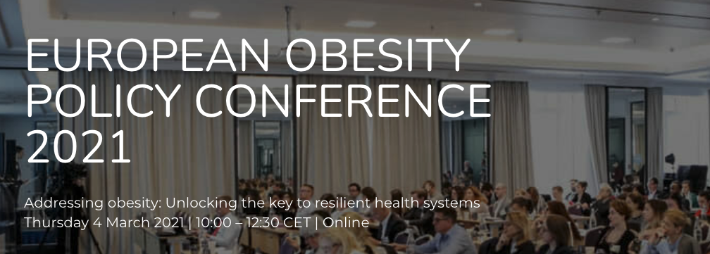 European Obesity Policy Conference 2021