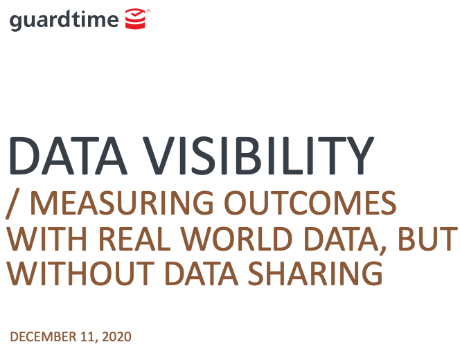 Data Visibility – Measuring Outcomes with RWD, but without Data Sharing