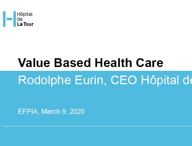 Value Based Health Care at Hôpital de La Tour
