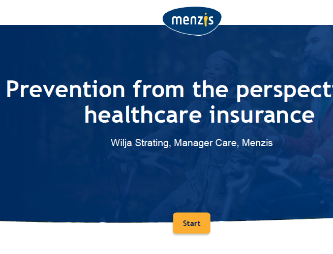Prevention from the Perspective of Healthcare Insurance